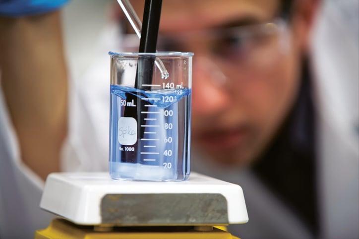 Industrial effluent water chemistry